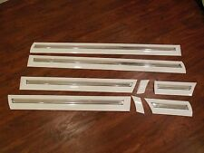1995-1997 OEM LINCOLN TOWN CAR Door Trim Molding Impact Strip Body Side WHITE
