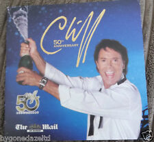 50TH ANNIVERSARY CD BY CLIFF RICHARD Daily mail  PROMO CD Free UK Post!!