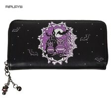 Banned Nero Wallet Purse Secret Obsession Casa Infestata dai Fantasmi Pipistrelli