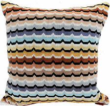 MISSONI HOME VELOUR COTTON PILLOW BAG SPA - FODERA COTONE CINIGLIA OMAR  160