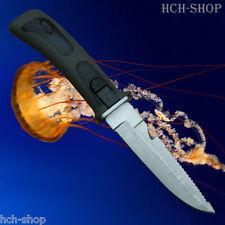 Fox Outdoor Tauchermesser Rettungsmesser Sägerücken schwarze Beinholster
