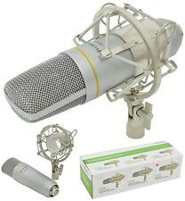 CCU2 USB STUDIO CONDENSER CARDIOID MICROPHONE with Shock Mount & Pouch
