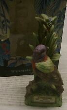 Tropical Bird Painted Bunting Mini Decanter w/box by Lionstone Whiskey