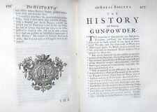 1667 ROYAL SOCIETY GUNS GUNPOWDER GUN EXPERIMENTS MAKING WINE DYING CLOTH &c.