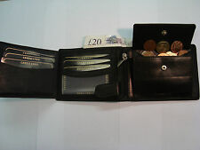 Top Quality Soft Leather Wallet With Many Features from London Leather Good