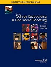 Gregg College Keyboarding & Document Processing (GDP); Microsoft Word 2007