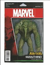 MAN-THING # 1 (CHRISTOPHER ACTION FIGURE VARIANT, MAY 2017), NM NEW
