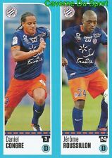 516-517 D. CONGRE J. ROUSSILLON MONTPELLIER HERAULT.SC STICKER FOOT 2017 PANINI