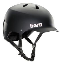 Bern Watts EPS Summer Cycling Helmet (Matte Black / Large / X-Large Size)