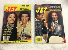 JET MAGAZINES (2) 1982  &  1985 both with Michael Jackson No mailing labels