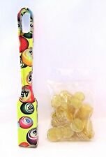 Bingo Magnetic Wand With Chips Designer Yellow Set