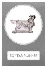 Golden Retriever Dog Show Six Year Planner/Diary by Curiosity Crafts 2017-2022