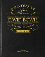 Personalised DAVID BOWIE Pictorial Edition Newspaper Book BOWIE TRIBUTE BOOK