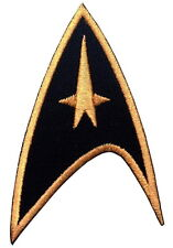 HOOK patch BLACK Star Trek Command insignia Cosplay Hat
