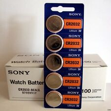 1000 pc SONY CR2032 CR 2032 3V Lithium Batteries Expire 2026 (1000 Coin Cells)