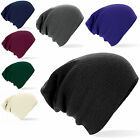 B461 Oversized Baggy Knitted Slouch Beanie Winter Hat - Mens - Ladies - Womens