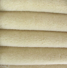 "1/6 yard INTERCAL Wheat 3/8""+ Medium Dense German Alpaca Blend Teddy Bear Fabric"