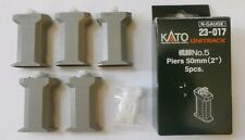 "Kato Unitrack N Gauge No. 5 Piers 50mm (2"") 5 Pieces  #23-017 ~ TS"