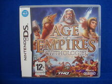 *ds AGE OF EMPIRES Mythologies (no manual) Lite DSI 3DS Nintendo PAL