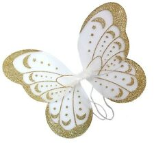 White Glitter Wing For Girls and Ladies  Fairy Wing Fancy Dress