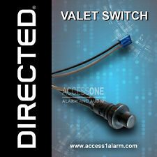 Directed Valet Override and Programming Momentary Push-button Switch