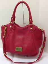 MARC by Marc Jacobs Large Classic Q Fran Hobo Hot Pink Leather Bag. Retail $538