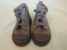 Boy's Baby Gap Army Green & Black Boots (Canvas & Rubber) Infant Size 4 in EUC!!