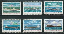 Romania-  Collection of Ships on Stamps........B 5N08