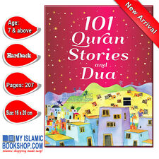 101 Quran Stories and Dua Muslim Islamic Children Kids Book Best Gift Ideas
