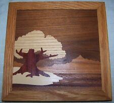 Round Mountain Woodworks Wood Inlay Picture