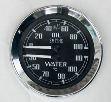 Smiths Oil Pressure & Water Temperature Gauge for MGB Sprite Midget. BHA4764