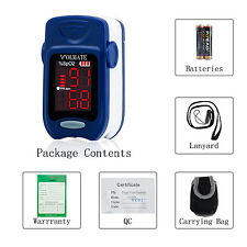 Pulse Oximeter Finger Tip Pulse Blood Oxygen SpO2 Monitor FDA Approved US seller