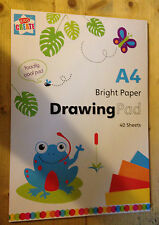 A4 Kids Create Multi colored activity Paper Pad Art Crafts 40 sheets Bright pad