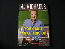 Al Michaels you can't make this up Hardback 2014 NEW!!!