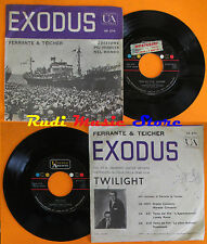 LP 45 7'' FERRANTE & TEICHER Theme from Exodus Twilight italy UA 274 cd mc dvd