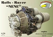 !-Parts Missing-! RV Aircraft 1/72 Rolls-Royce Nene engine