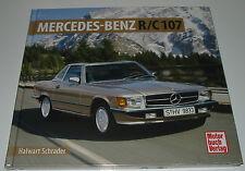 Bildband Mercedes Benz R 107 280 350 380 420 450 500 SE SEC Halwart Schrader NEU