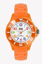 ICE WATCH MINI Kinderuhr MN.OE.M.S.12 Silikon orange neu