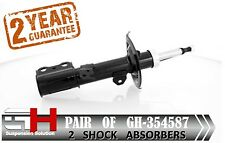 2 NEW FRONT GAS SHOCK ABSORBERS FOR TOYOTA CELICA (T23) 1999-2006  / GH-354587 /