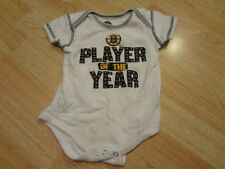 """Infant/Baby Boston Bruins 12 Mo Creeper """"Player of the Year"""" (White)"""