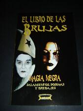 BOOK EL LIBRO DE LAS BRUJAS MAGIA NEGRA salamientos posimas y brebajes