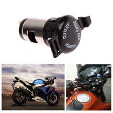 12-24V Motorcycle Car Metal Cigarette Lighter Female Socket Plug Waterproof 1P