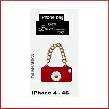 BACI MILANO COVER BORSETTA PORTA IPHONE 4 4S 190523 ROSSO CASAFASHIONITALIA