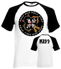 KISS Rock And Roll Over v.3 T-shirt white poster front/back all sizes S...2XL