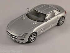 MERCEDES SLS AMG in Silver 1/43 scale model