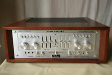 Audiophiler MARANTZ 1300 DC console stereo amplifier amplificatore + woodcase NUOVO