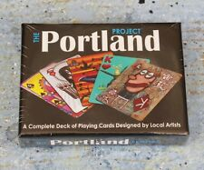 PORTLAND PROJECT ART PLAYING CARDS  LOCAL ARTISTS