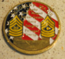 U.S. Army Sergeant Major Academy FT. BLISS challenge coin
