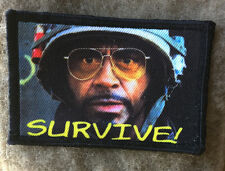 Survive! Tropic Thunder Movie Morale Patch Tactical Military USA Hook Badge Army