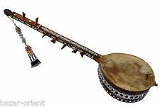 orientalische exotische Volksmusikinstrument dambure saz Afghanistan Nr:15-E